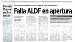 Reforma, Falla ALDF en apertura zoom, 15jun16