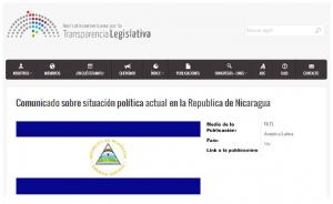 Comunicado por Nicaragua, RedLTL 12ags16