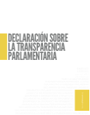 Declaración de Transparencia Parlamentaria (texto)