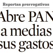 Abre PAN a medias sus gastos en ALDF, Reforma (22mzo13)