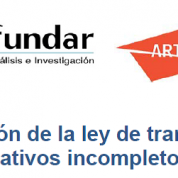 A un año de la ley de transparencia, avances normativos incompletos (4may16)
