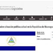 Se requiere el respeto de derechos políticos en Nicaragua, Comunicado RedLTL (12ags16)