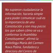 Asamblea Constituyente: comicios que no enganchan, Excélsior (22may16)