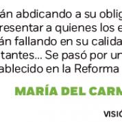 Morena abdica a representar electores en Constituyente Ciudad de México, Excélsior (10sep16)