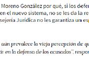 Defensores públicos: claves en el nuevo sistema de justicia penal, Excélsior (29sep16)