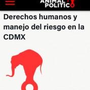 DDHH y Manejo del Riesgo en la Ciudad de México, 20jul17