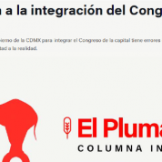 Una Crítica a la Integración del Congreso de la Ciudad de México (26oct16)