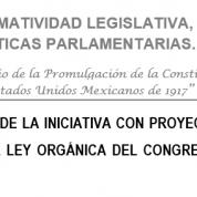 Versión del Dictamen Ley Orgánica del Congreso Ciudad de México, 18dic17