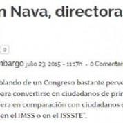 Gastan diputados federales en seguros de gastos médicos privados, Sin Embargo (23jul15)