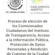 Reapertura de registro de aspirantes a integrar #InfoCdMx viola principios de legalidad y equidad, 24ene18