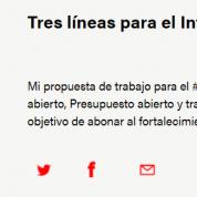 Estado abierto, Presupuesto abierto y transparencia accesible: tres líneas para #InfoCdMx, 22ene18